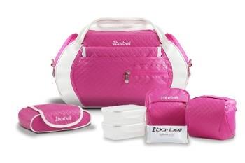 Bolsa BabyBü rosa - Barbell Brasil